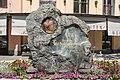Ferlach Hauptplatz Perkonig-Denkmal 07062016 2492.jpg