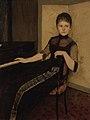 Fernand Khnopff - Portret van jonkvrouwe Maria Francisca Louisa Dommer van Poldersveldt (Ubbergen 1848 - 1925 's-Hertogenbosch) - SK-A-5043 - Rijksmuseum.jpg
