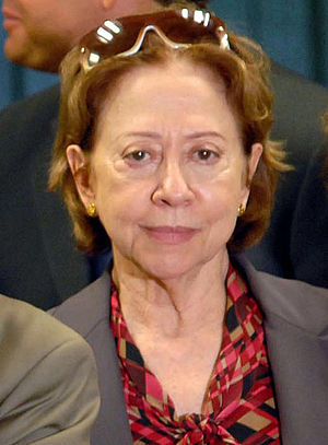 The Brazilian actress Fernanda Montenegro.