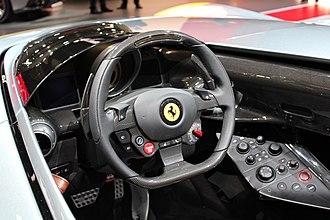 Ferrari Monza SP - Interior