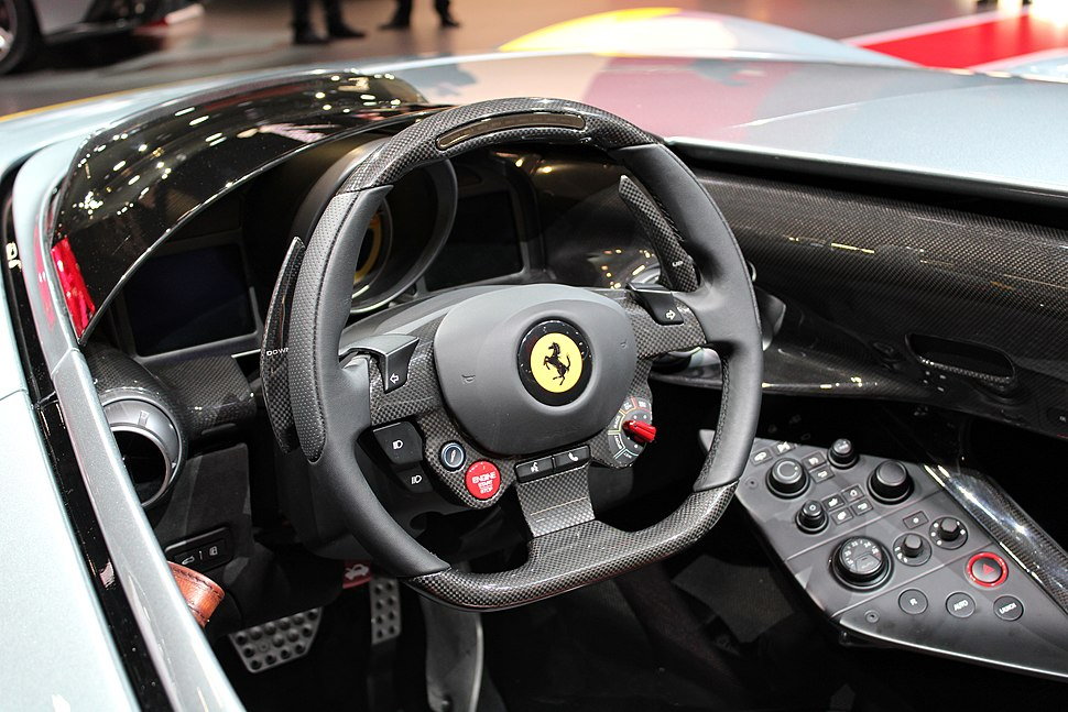 Ferrari Monza SP1, Paris Motor Show 2018, IMG 0648