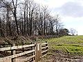 Field, transmitter mast enclosure, Kennels Road - geograph.org.uk - 369599.jpg