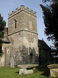 Fifehead parish church, 2001.JPG