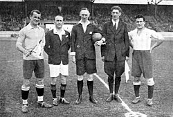 Final football Argentina vs Uruguay Olympics 1928.jpg