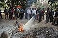 Fire Extinguisher Demonstration - NCSM - Kolkata 2018-01-04 7366.JPG