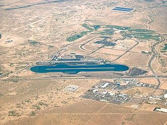 Wild Horse Pass Motorsports Park - Image: Firebird International Raceway Chandler Arizona