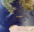 Fires raging across Peloponnese peninsula in 2007 ESA234768.tiff
