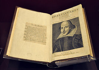 First Folio - The First Folio (Victoria and Albert Museum, London)