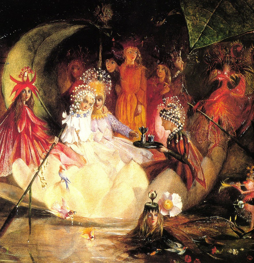 Fitzgerald, John Anster - The Marriage of Oberon and Titania