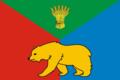 Flag of Khomutovskoe (Irkutsk oblast).png