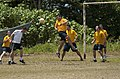 Flickr - Official U.S. Navy Imagery - Sailors play soccer with Colombian sailors and marines..jpg