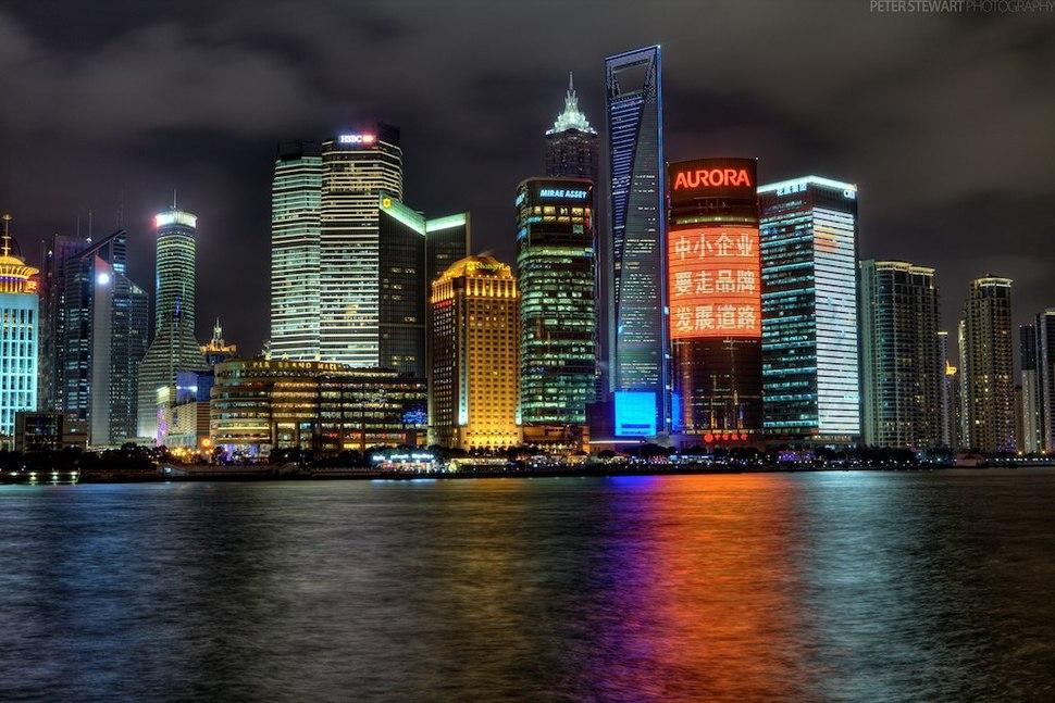 Flickr - Shinrya - Shanghai Skyline HDR