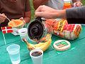 Flickr - cyclonebill - Bagels, frugt og kaffe.jpg