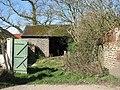 Flint and brick barn - geograph.org.uk - 1215387.jpg