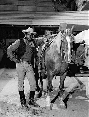 Floyd Patterson - Patterson tried his hand at acting. He is seen in this 1968 The Wild Wild West episode as a landowner who is in danger of losing his property.