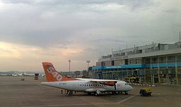 Fly540 ATR42 at Entebbe.jpg