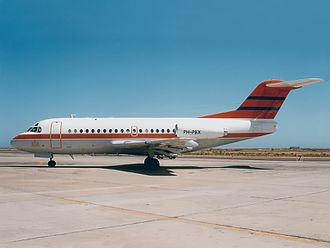 Air Ontario Flight 1363 - A Fokker F28 similar to the accident aircraft