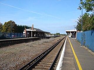 Folkestone West railway station