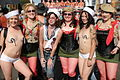 Folsom Street Fair uniformed group of women.jpg