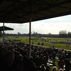 Fontwell Park Racecourse - Image: Fontwell Races geograph.org.uk 128821