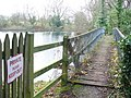 Footbridge, Clandon Park - geograph.org.uk - 1085881.jpg