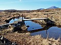 Footbridge over Allt nan Loin Bhuidhe - geograph.org.uk - 1745940.jpg