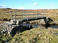 Footbridge over beck - geograph.org.uk - 713654.jpg