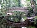 Footbridge reflected in River Rivelin.jpg