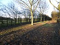 Footpath by the flyover, Sawtry - geograph.org.uk - 1708415.jpg