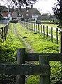 Footpath towards Roxford's House - geograph.org.uk - 623440.jpg