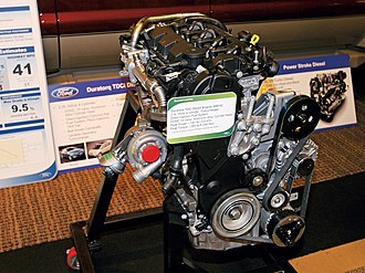 Ford Duratorq engine - Image: Ford Duratorq TD Ci 2.0