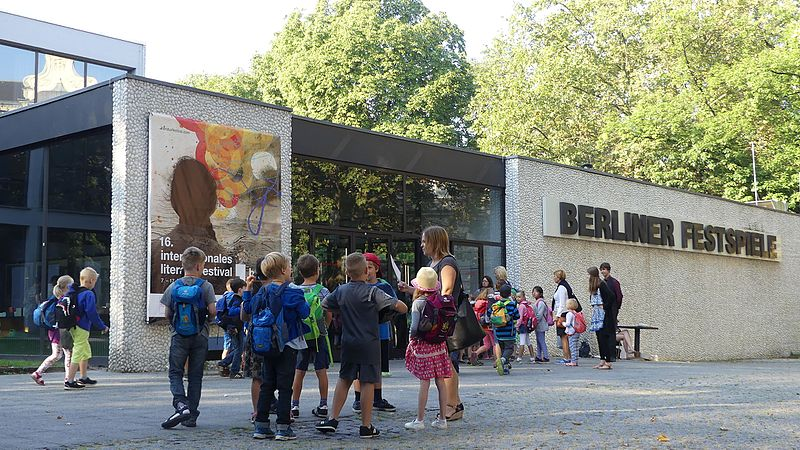 File Forecourt at Haus der Berliner Festspiele on