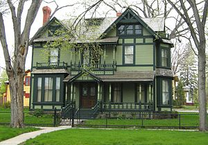 North Dakota Governor's Residence - Image: Former Governor Residence ND