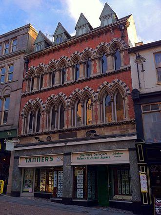 Nottingham Journal - The former Nottingham Journal offices on Pelham Street, Nottingham