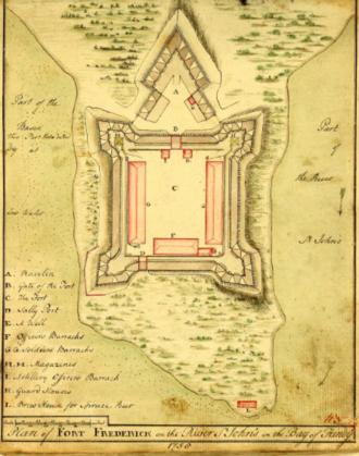 Fort Frederick (Saint John, New Brunswick) - Fort Frederick St John River, New Brunswick