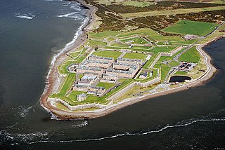 Fort George, Highland 18th-century fortress built in the Scottish Highlands in the aftermath of the Jacobite Rising of 1745