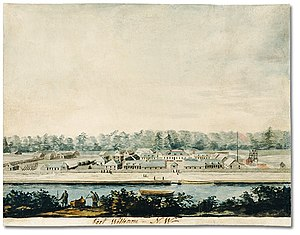 Fort William, Ontario - Fort William in 1811
