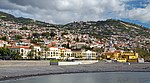 Fort of São Tiago and Hotel Porto Santa Maria in Funchal. Madeira, Portugal.jpg