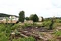Foto-Denkmal (Reihe, wird fortgsetzt) Verlegung B173 in Flöha, Abzweig Flöha, Abriss IV - panoramio.jpg