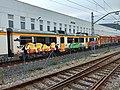 Fotografía del tren accidentado en los talleres de Redondela.jpg