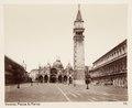 Fotografi över Markusplatsen, Venedig - Hallwylska museet - 107357.tif