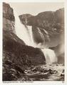 Fotografi av Skjaeggedalsfossen. Odde i Hardanger, Norge - Hallwylska museet - 105724.tif