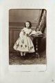 Fotografiporträtt på Agnes von Hallwyl, 1800-talets mitt - Hallwylska museet - 107594.tif
