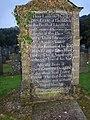 Founder's gravestone, Rhydwilym Chapel, Llandissilio East - geograph.org.uk - 602714.jpg