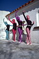 Four women dancing in zentai.jpg