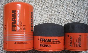 FRAM (filter) - Assortment of Fram oil filters