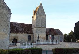 The church in Saint-Pierre-du-Bû