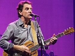 Francis Cabrel en concert le 1er novembre 2008 à Forest National, à Bruxelles.