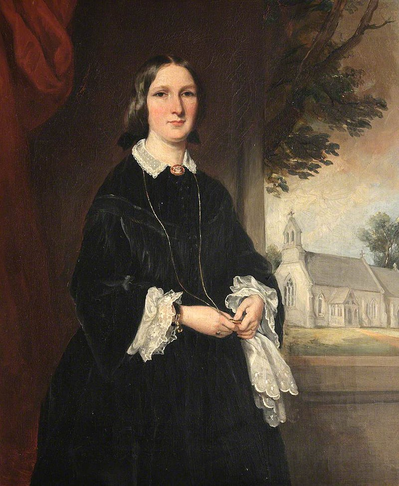 Francis Grant (1803-1878) - Mrs Mathilda Holland (d.1905) - 1151353 - National Trust.jpg