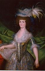 Portrait of Maria Luisa de Parma